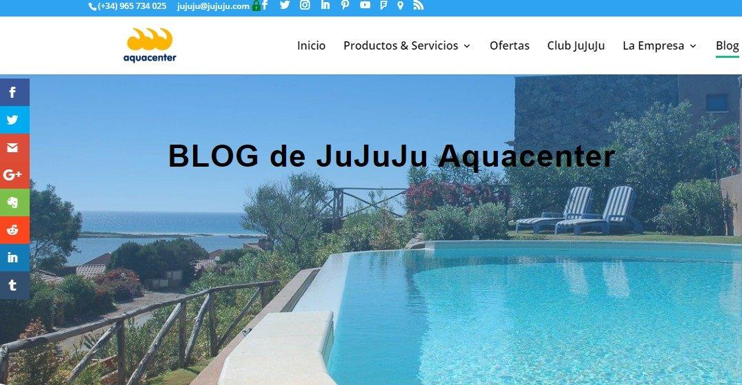 Bienvenid@s al BLOG de JuJuJu Aquacenter