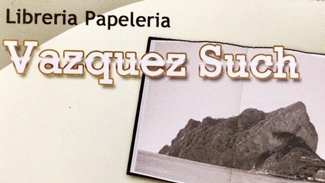 Librería Papelería Vazquez Such en Calpe es partner de jujuju aquacenter
