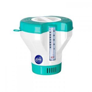 Dosificador con termométro de piscina GRE (de 20 a 500 gr. ) by JUJUJU Aquacenter en Benissa - Costa Blanca