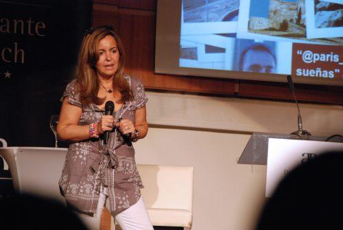 Fátima Martinez López viene a JuJuJu Aquacenter de Benissa