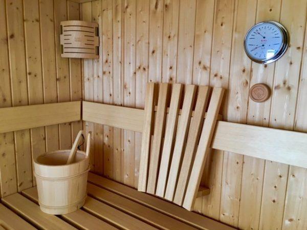 Sauna finlandes de RUKU en JuJuJu Aquacenter