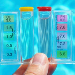 Tratamiento del agua de la piscina