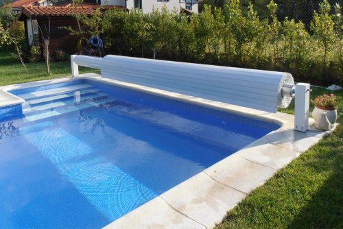 Schwimmbad - Abdeckung von JuJuJu Aquacenter in Benissa (Spanien)
