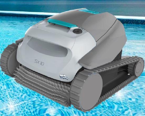 Pool robot sx10 Dolphin en jujuju aquacenter de benissa (costa blanca)