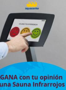 GANA esta Cabina Infrarrojos (valor 3.999 €) con tu OPINION en JuJuJu Aquacenter en Benissa