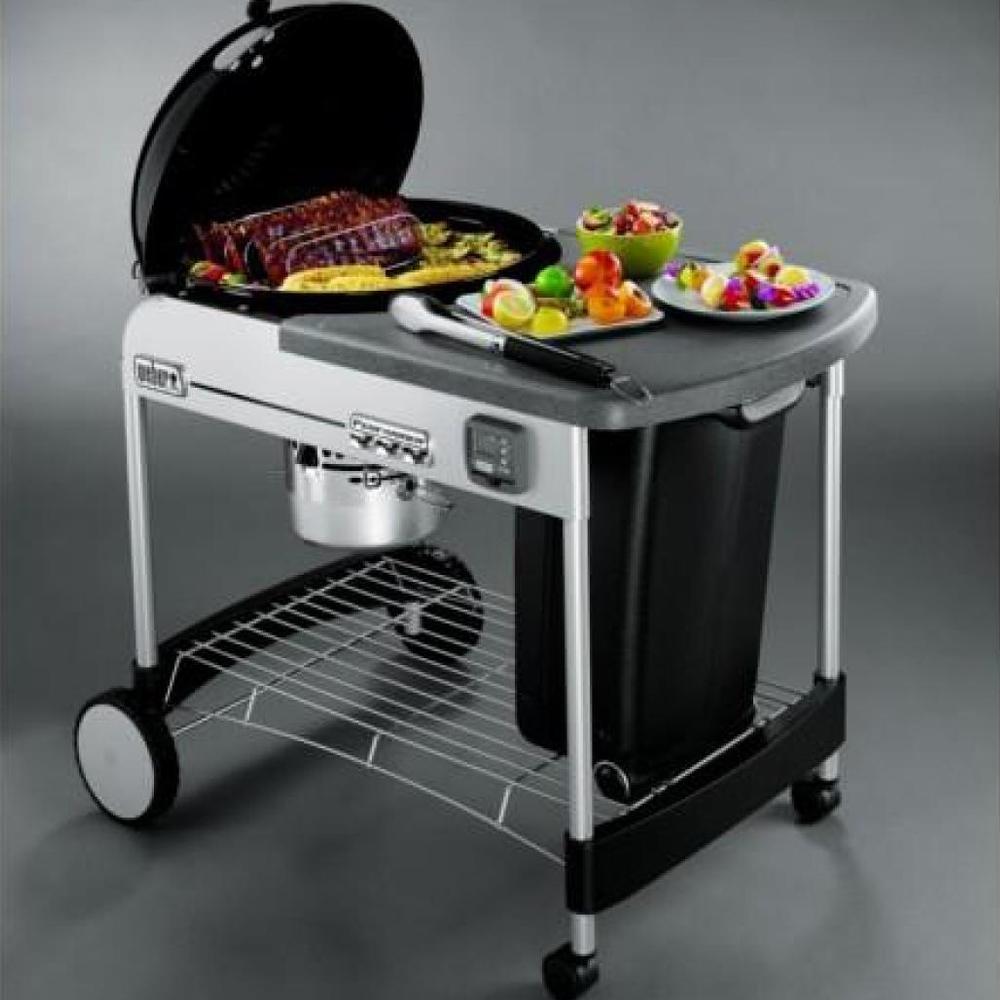 Weber Performer Premium.Barbacoa De Carbon Performer De Weber