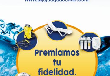 Premiamos tu fidelidad con REGALOS … JuJuJu Aquacenter en Benissa