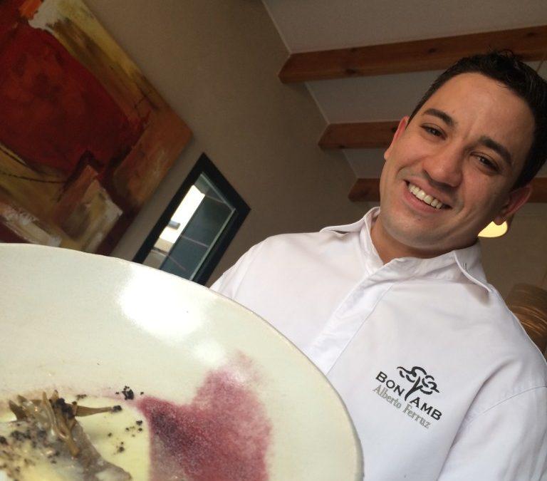 Charla: Alberto Ferruz, el chef del Bon Amb Restaurant – 06 de Marzo en JuJuJu Aquacenter