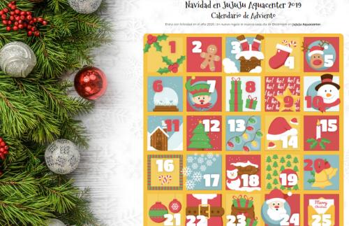 Adventskalender - Calendario de Adviento de JuJuJu Aquacenter en Benissa