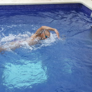 Contracorriente de piscina en jujuju aquacenter