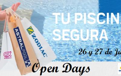 Open Days del 26 y 27 de Junio – Tu Piscina segura en JuJuJu Aquacenter