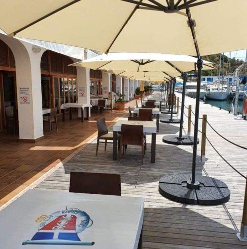 restaurante Real Club Nautico Calpe terraza
