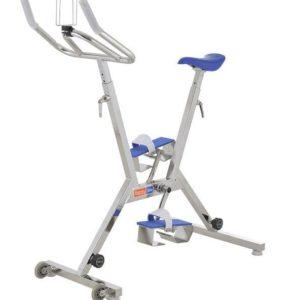 Aquabike Fitness - Bicicleta Happy bike azul en jujuju aquacenter en Benissa