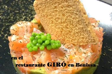 GANA el menú especial para 2 en el Restaurante Giró en Benissa
