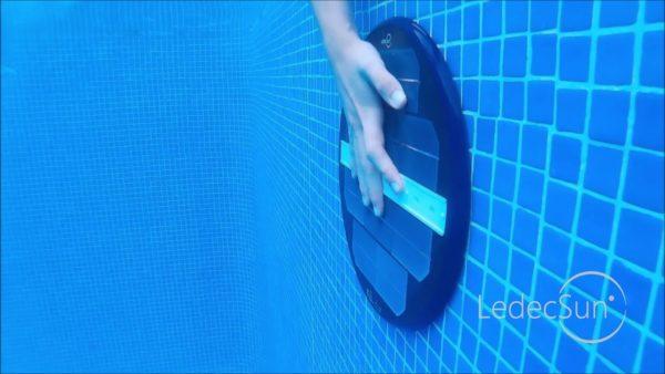 Luz solar para la piscina en jujuju aquacenter benissa