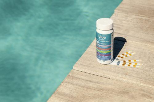 strips analizar el agua de la piscina