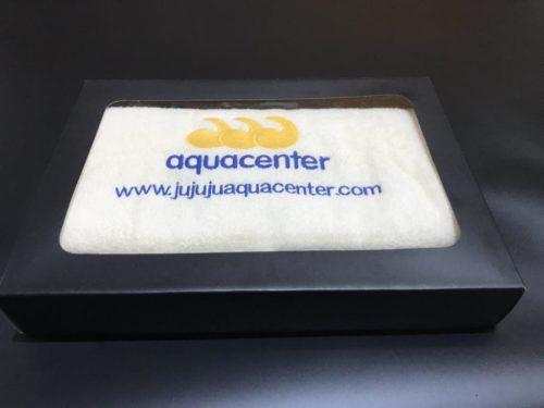 toalla personalizada jujuju aquacenter