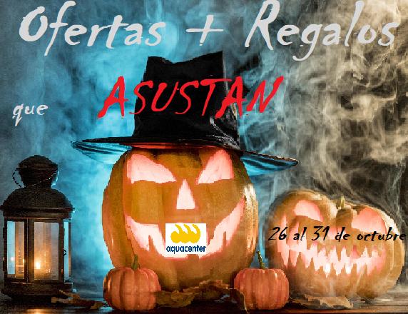 Regalos y Ofertas que ASUSTAN – Halloween 2020 en JuJuJu Aquacenter