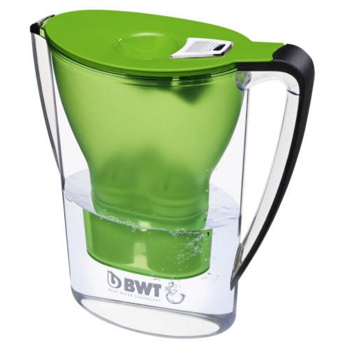 Jarra Filtradora de Agua con Magnesio verde - BWT en jujuju aquacenter
