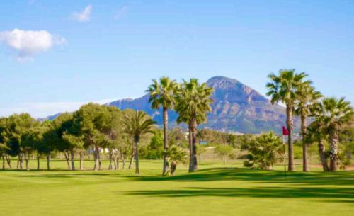 club de golf javea