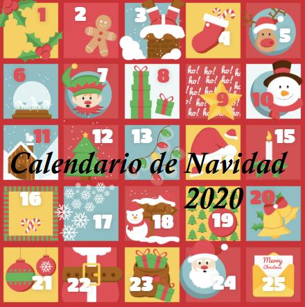 Calendario de Navidad 2020 jujuju aquacenter benissa costa blanca