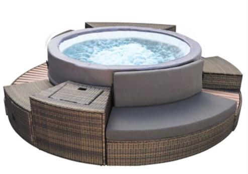 Netspa Vita premium con mueble (5-6 plazas) en jujuju aquacenter benissa