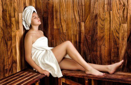 Sauna Made in Germany in jujuju aquacenter benissa costa blanca