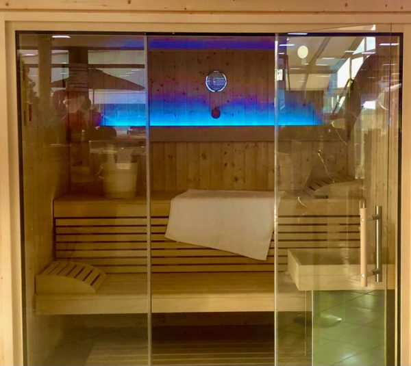 Sauna Elegance en exposición jujuju aquacenter benissa
