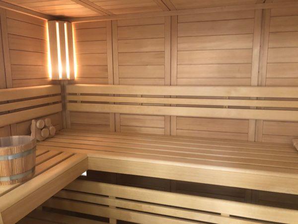 Sauna finlandesa Merano of Wille - Made in Germany en jujuju aquacenter benisssa javea calpe moraira