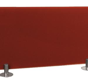 Panel pared vidrio rojo 300 w. Calefacción de diseño en jujuju aquacenter