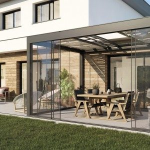 Pérgola bioclimática - Cubierta para la terraza en jujuju aquacenter benissa costa blanca