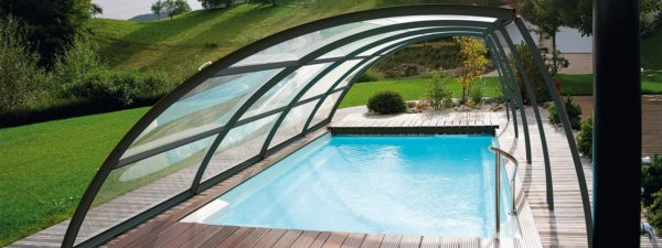 Cubierta baja telescópica para la piscina en jujuju aquacenter benissa javea calpe moraira denia benidorm