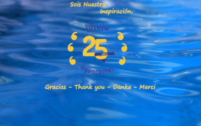 25 años JuJuJu Aquacenter Benissa – Sorpresas, Regalos y 25% Descuento en … 🎈GRACIAS😘