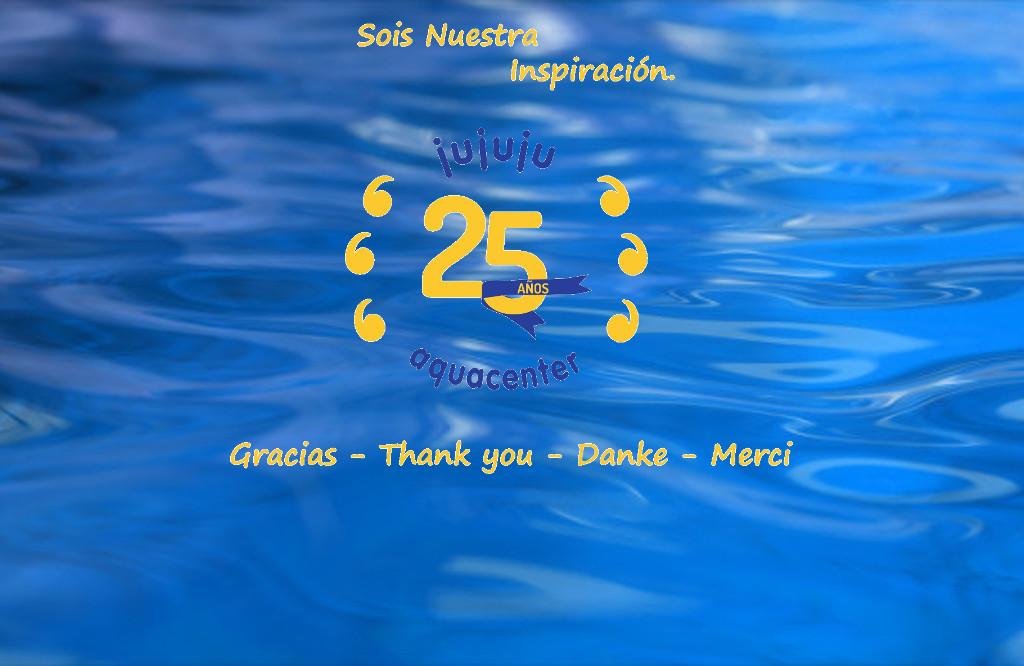 25 Aniversario de jujuju aquacenter en Benissa Costa Blanca Alicante
