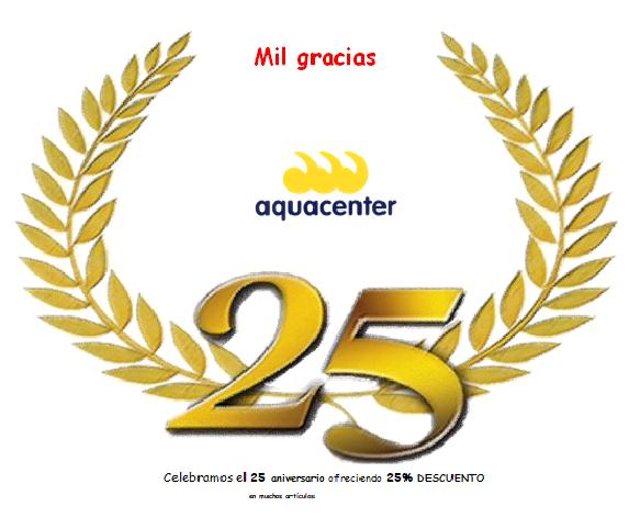 25 años JuJuJu Aquacenter Benissa – 25% Descuento en muchos artículos🎈GRACIAS😘