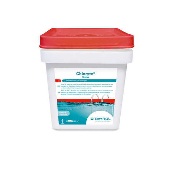 Chloryte Sticks Bayrol en jujuju aquacenter benissa javea calpe denia
