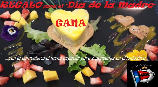 """GANA el menú especial para 2 en el """"Restaurante Real Club Náutico Calpe"""" con las palabras más bonitas para tu MAMA – Día de la Madre 2021"""