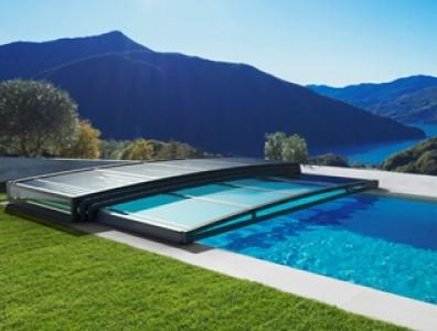 Cubierta para la piscina en jujuju aquacenter benissa