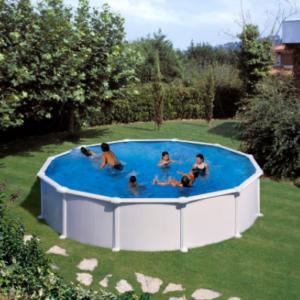 Piscina elevada Atlantis redonda kitpr558 jujuju aquacenter benissa javea teulada calpe denia altea