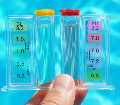 Wir testen GRATIS ihr Schwimmbadwasser im JuJUJU Aquacenter Benissa Javea Denia Calpe Moraira Altea Albir