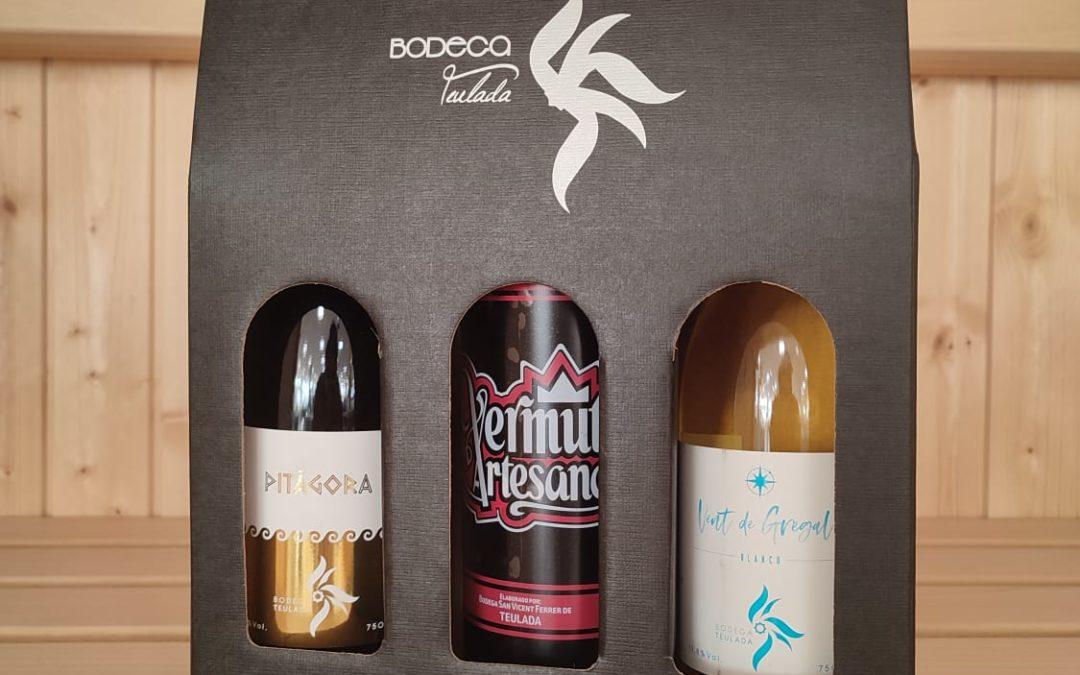 GANA una caja de Vinos/Vermuth artesanos de la Bodega Teulada ¿CÓMO?