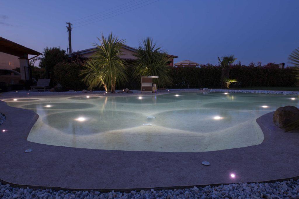 Iluminacion piscinas -Foto de Renolit Alkorplan