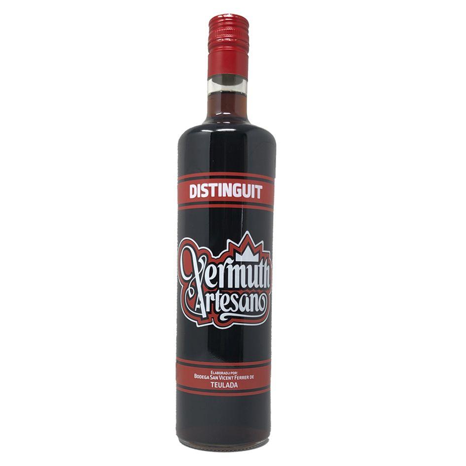 Vermuth rojo artesano Distinguit de la Bodega Teulada - partner de jujuju aquacenter en benissa